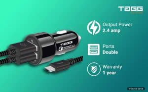 TAGG Power Bolt Smart Car Charger