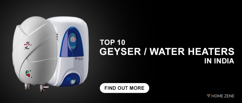 10 Best Geysers / Water Heaters in India: 2019 Reviews