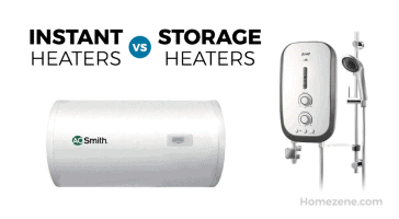 Instant heater vs storage heaters