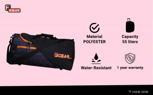 F Gear 55 Litre Duffle Bag