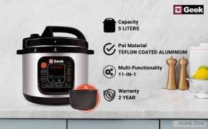 Geek Electric Pressure Cooker