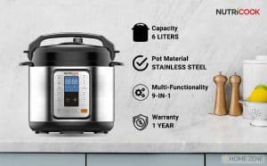 Nutricook Electric Pressure Cooker