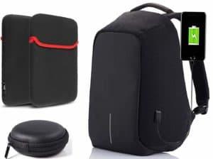 Trajectory backpacks