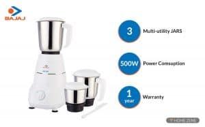 Bajaj 500-Watt Mixer Grinder