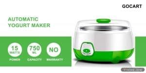 Gocart 750ml Yogurt Maker
