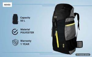 novex rucksack bags