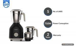Philips 750 Watt Mixer Grinder