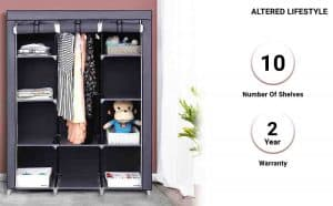 ALTERED LIFESTYLE Foldable Collapsible Closets