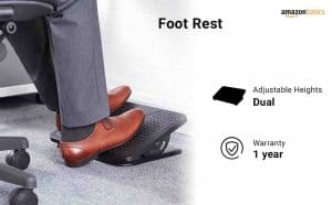 AmazonBasics Foot Rest