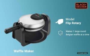 Black+Decker Waffle Maker
