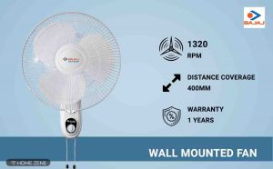 Bajaj Wall Mounted Fan