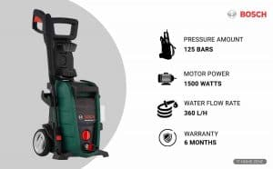 Bosch Aquatak 125 1500-Watts Electric High Pressure Washer