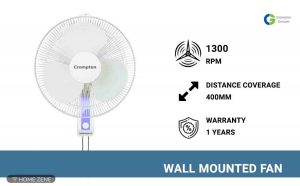Crompton Wall Mounted Fan