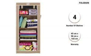 FOLDDON Foldable Collapsible Closets