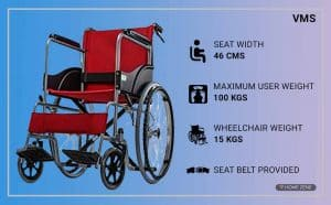 FASTWELL Wheelchair