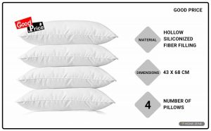 GOOD Price 43.18 x 68.58 cm Bed Pillow