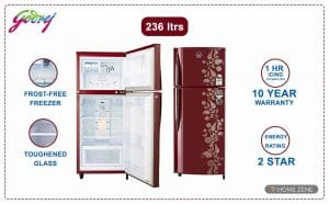 Godrej-236-double-door-refridgerators