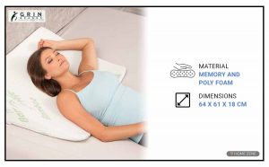Grin Health Bed Wedge Pillow