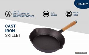Healthy Choices Cast Iron Skillet