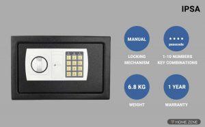 IPSA ES01Compact Digital Locker