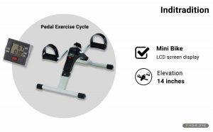 Inditradition Mini Pedal Exercise Bike
