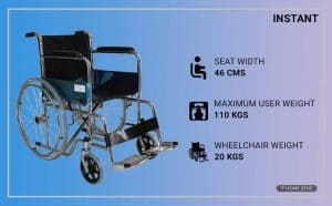 Instant Mobility Wheelchair