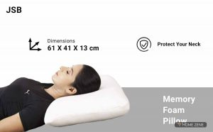JSB (60.96 x 40.64 cm) Memory Foam Pillow