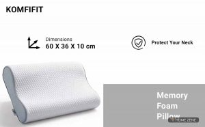 KOMFIFIT (59.944 x 35.052 cm) Memory Foam Pillow