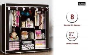 Kurtzy Foldable Collapsible Closets