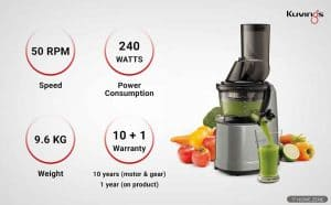 The 7 Best Cold Press Juicers in India: 2020 Reviews
