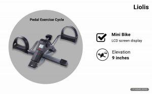 Liolis Mini Pedal Exercise Bike