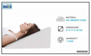 METRON Bed Wedge Pillow