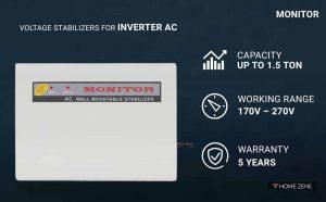 MONITOR Voltage Stabilizer for Inverter AC