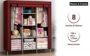 Maison & Cuisine Foldable Collapsible Closets