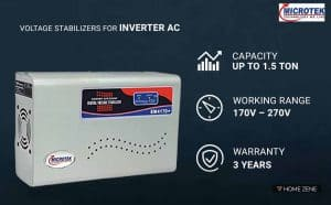 Microtek EM4170+ Voltage Stabilizer for Inverter AC