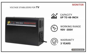 Monitor Voltage Stabilizer for TV