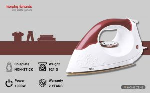Morphy Richards 1000-Watt Dry Iron