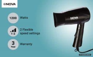 Nova-hair-dryers