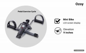 Ozoy Mini Pedal Exercise Bike