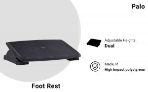 Palo Adjustable Angle Foot Rest For Office & Home