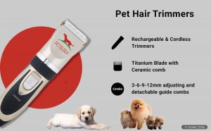 Petology Professional Pet Hair Trimmer
