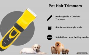 PetsUp Pet Hair Trimmer