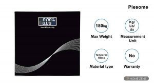Piesome weighing scale