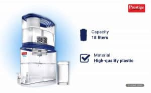 Prestige 18-Litres Gravity Based Non-Electric Water Purifier
