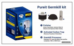 HUL Pureit 23-Litres Gravity Germ kill battery kit