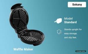 Sokany Waffle Maker