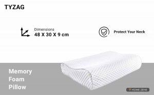 TYZAG (48.26 x 30.48 cm) Memory Foam Pillow