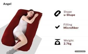 Angel Mommy Pregnancy Pillow