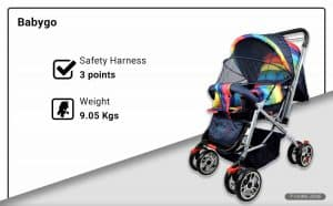 Babygo Reversible Baby Stroller
