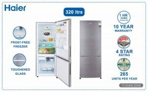 haier-320-double-door-refridgerators